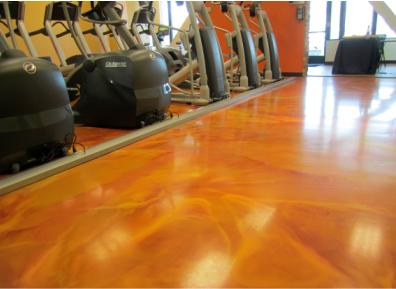 Elite Crete Flooring in a gym