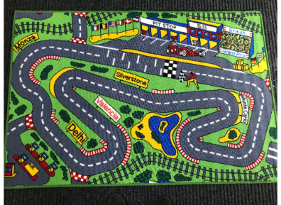 Racetrack Carpet for children from Yorkshire Carpets