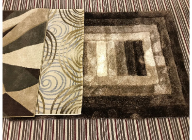 Selection of Carpets on display in our Morley Showroom